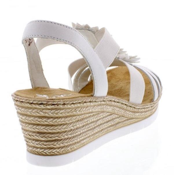 Rieker 61949 Sandals White 38