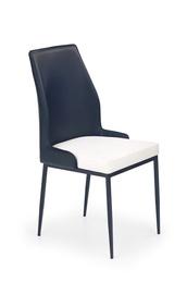 Ēdamistabas krēsls Halmar K-199 Black/White