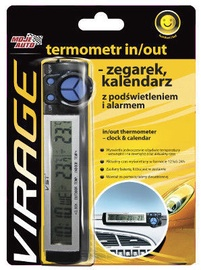 Moje Auto Car In/Out Thermometer