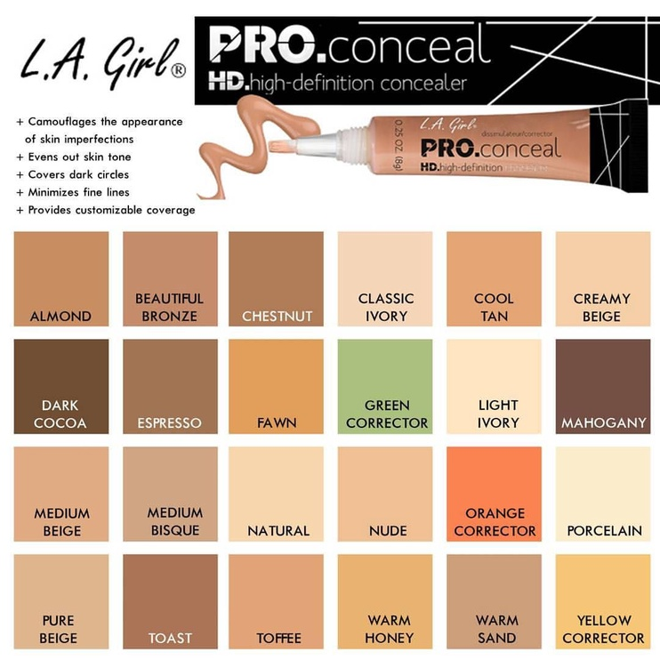 L.A. Girl HD Pro Conceal 8.g 970