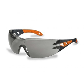 Uvex Pheos Safety Glasses Gray