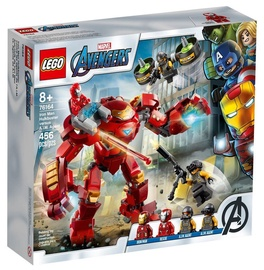Konstruktor LEGO®Super Heroes 76164 Iron Mani Hulkbuster versus A.I.M.-i agent