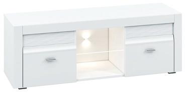 TV galds ML Meble Arko 10 White, 1380x420x500 mm