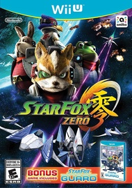 Star Fox Zero With Star Fox Guard Download Code WiiU