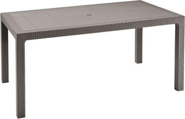 Lauko stalas Keter Melody, smėlio, 160 x 94 x 74 cm