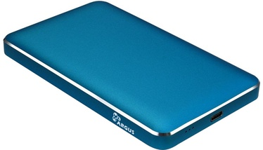 "Inter-Tech 2.5"" HDD/SSD External Case Blue GD-25609"