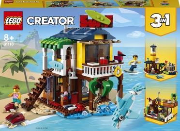 Конструктор LEGO Creator Пляжный домик серферов 31118, 564 шт.