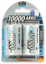 Батарейка Ansmann NiMH Rechargeable Battery 5030642 2xD 10000mAh