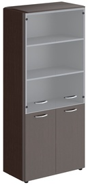 Skyland Dioni Office Cabinet DHC 85.2 Wenge Magic