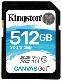 Kingston SDXC Canvas Go 512GB