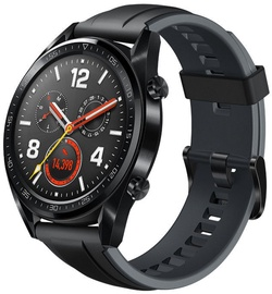 Išmanusis laikrodis Huawei Watch GT Black Rubber Strap