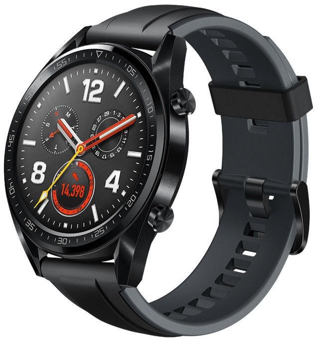 Huawei Watch GT Black Rubber Strap