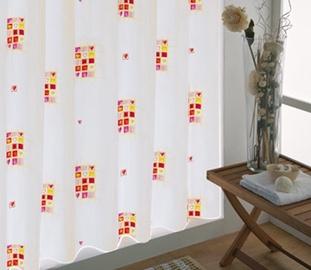 Vonios užuolaida Gedy Hearts 202, 200 x 180 cm