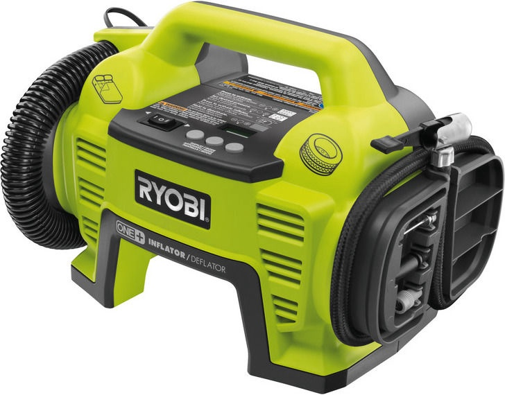 Ryobi R18I-0 18V Cordless Tyre Inflator without Battery
