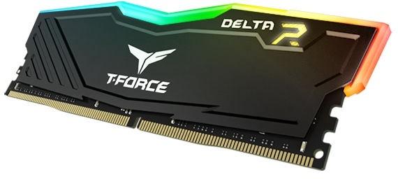 Team Group Delta RGB 8GB 3000MHz CL16 DDR4 KIT OF 2 TF3D48G3000HC16CDC01
