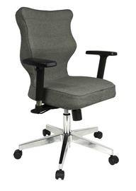 Entelo Nero Poler Chrome Office Chair TW03 Grey