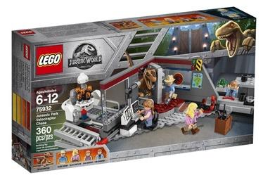 LEGO Jurassic World Park Velociraptor Chase 75932