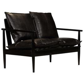 Диван VLX 2-Seater 246483, черный, 69 x 116 x 74 см