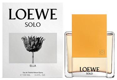Tualettvesi Loewe Solo Loewe Ella 100ml EDT