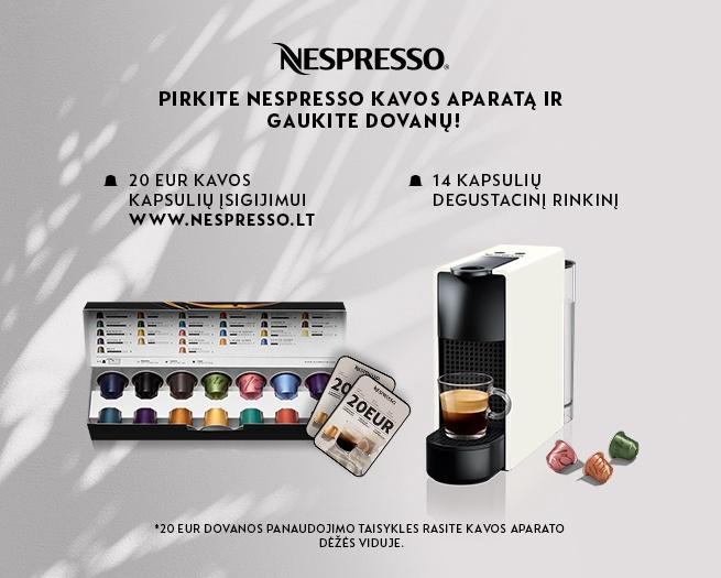 Kapsulas kafijas automāts Nespresso Pixie Titan