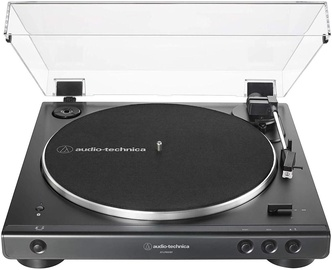 Audio-Technica AT-LP60XBT Fully Automatic Wireless Belt-Drive Turntable Black