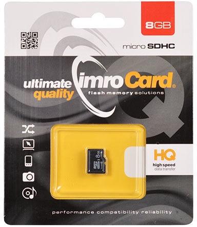 IMRO 4 8GB MicroSDHC Class 4