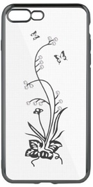 Beeyo Glamour Series Wish Back Case For Samsung Galaxy J6 J600F Transparent/Grey