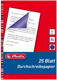 Копировальная бумага Herlitz Carbon Paper, a4, 25 шт.