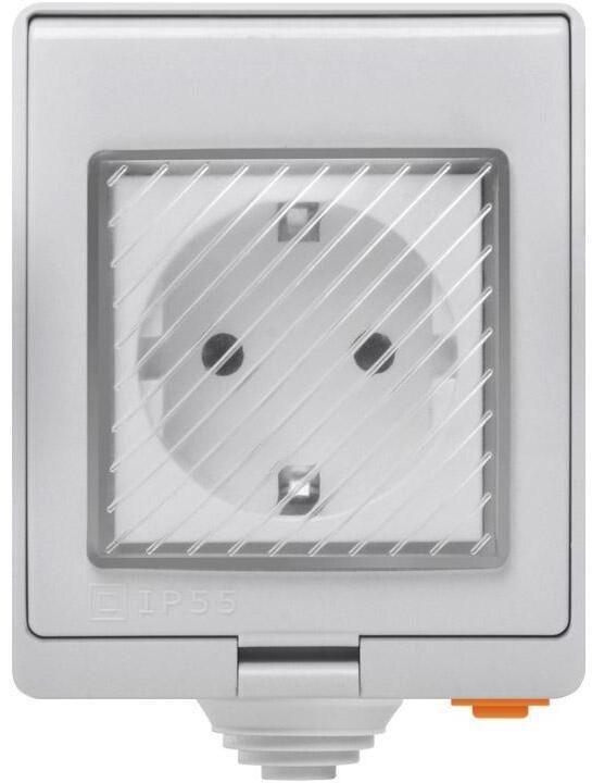 Viedā elektroligzda Sonoff S55, 3500W, 230VAC, IP55
