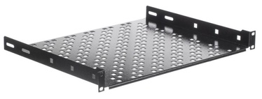 Netrack Equipment Shelf 19'' 1U/350mm Black