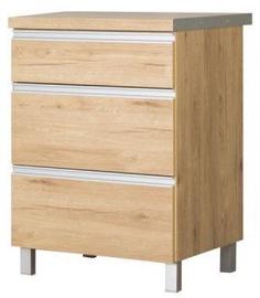 Bodzio Monia Bottom Drawer Cabinet 60 Brown
