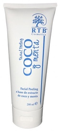 Sejas skrubis RTB Coco And Mint Facial Peeling, 200 ml