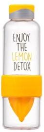 Lock & Lock ABF659 Detox Bottle 520ml Yellow