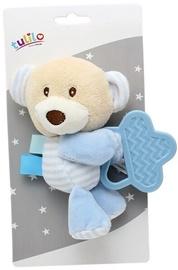 Axiom New Baby Plush Toy With Teether Teddy Bear 16cm