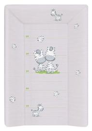 Vystymo lenta Ceba Baby Zebra Hard, 70x50 cm, pilka