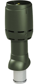 Vilpe Flow Roof Ventilation Outlet 125P/IS/500 Green