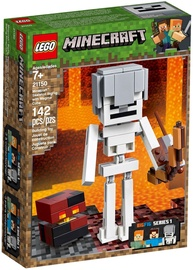Konstruktorius LEGO Minecraft Skeleton BigFig With Magma Cube 21150