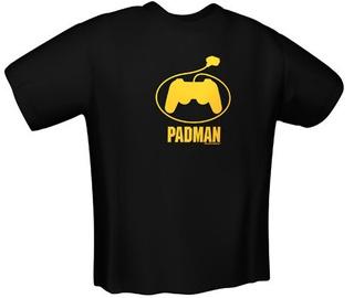 GamersWear PadMan T-Shirt Black XL