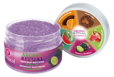 Dermacol Aroma Ritual Grape & Lime 200g Body Scrub