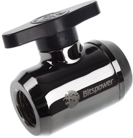 BitsPower Stop Valve WAZU-234 Shiny Black