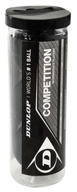 Dunlop Competition Squash Balls 3pcs