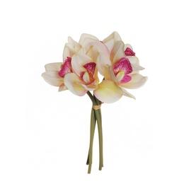 Puokštė dirbtinių orchidėjų 80-327871, 25 cm