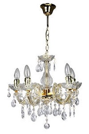 Verners Therese Ceiling Lamp 5x40W E14 Gold