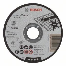 Pjovimo diskas nerūdijančiam plienui Bosch, 115 x 1 x 22.23 mm