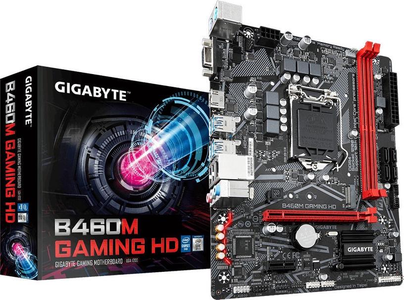 Mātesplate Gigabyte B460M Gaming HD
