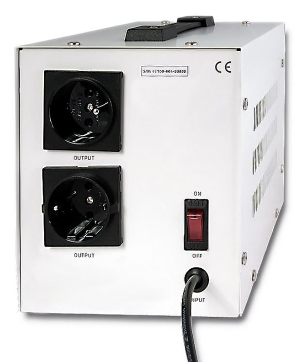 Qoltec Automatic Voltage Stabilizer AVR 2000VA