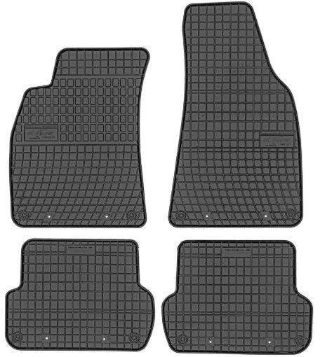 Резиновый автомобильный коврик Frogum Audi A4-B6 / A4-B7, 4 шт.