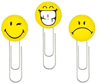 Herlitz Paper Clip SmileyWorld Fancy 6pcs 11420080