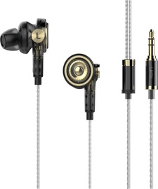 UiiSii BA-T9 Hybrid In-Ear Earphones Gold