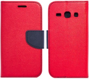 Telone Fancy Diary Bookstand Case For HTC U Play Red/Blue